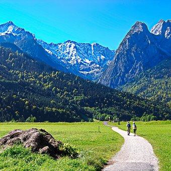 Mountain, Mountain Summit, Valley, Landscape