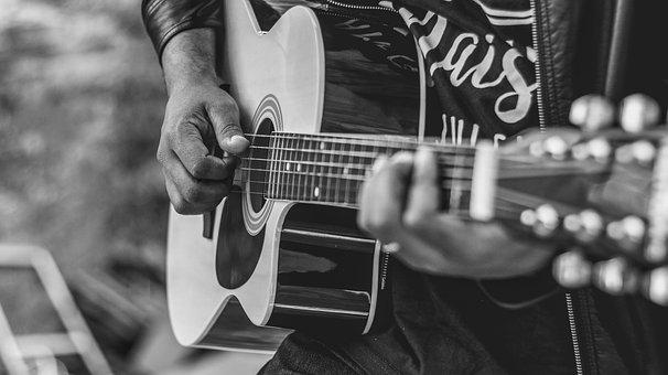 Guitar, People, Variants, Adult, Music, Musician