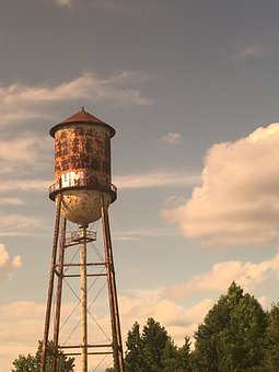 Sky, Tower, Outdoors, Industry, Water Tower