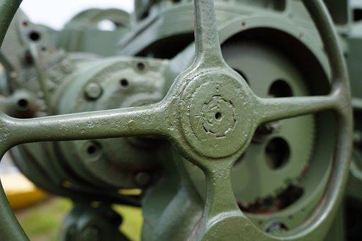 Wheel, Machine, Industry, Steel, Gear, Power, Equipment