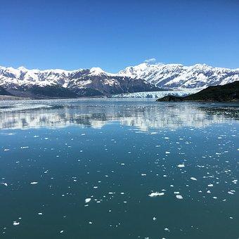 Snow, Water, Nature, Mountain, Landscape, Glacier, Sky
