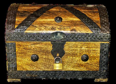Chest, Treasure Chest, Box, Castle, Treasure