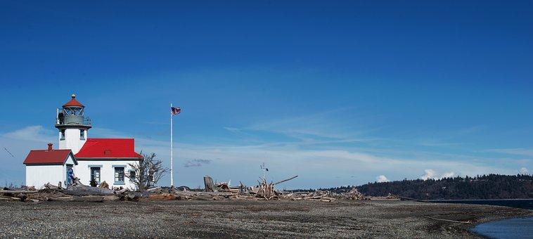 Pt Robinson, Lighthouse, Maury Island, Vashon Island