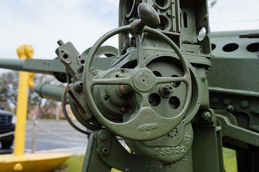 Power, Wheel, Steel, Machine, Equipment, Industry, Old