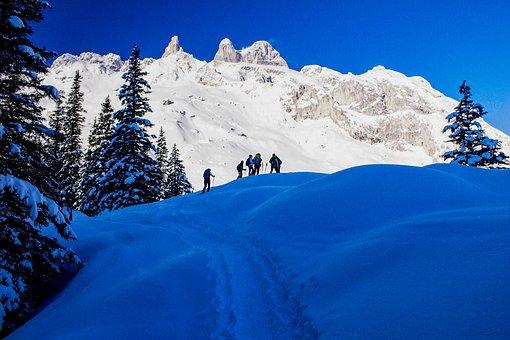 Snow, Winter, Mountain, Cold, Austria, Gauertal