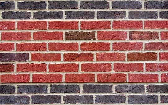 Brick, Wall, Cement, Brickwork, Concrete