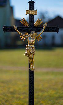 Jesus, Jesus Christ, Cross, Religion, Sculpture, Statue