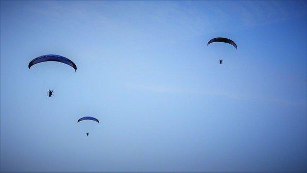 Parachute, Paragliding, Sky, Fly, Flight, Trip, Cloud