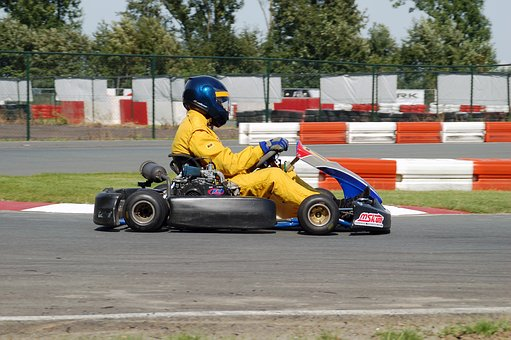 Go-karting, Kart, Overall, Helmet, Speed, Course