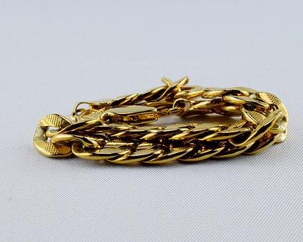 Bracelet, Gold Jewelry, Earrings, Gold, Jewellery