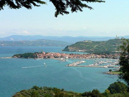 Izola, Isola, Slovenia, Peninsula, Adriatic Sea, Coast