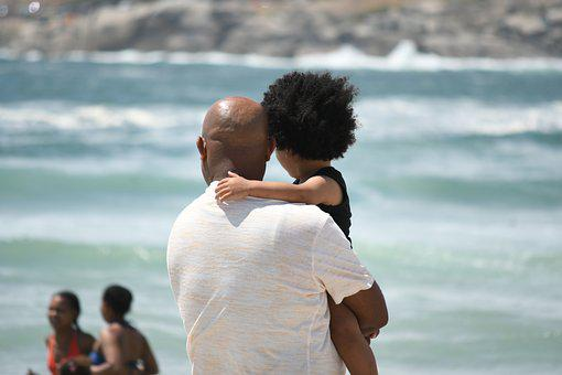 Father, Daughter, Family, Water, Summer, Romance, Love
