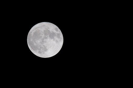 Moon, Astronomy, Lunar, Luna, Darkness, Full Moon