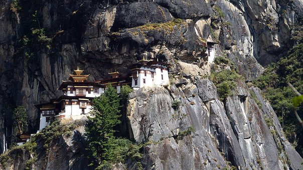 Nature, Rock, Travel, Stone, Landscape, Bhutan