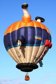 Sky Balloon, Outdoors, Fun, People, Travel