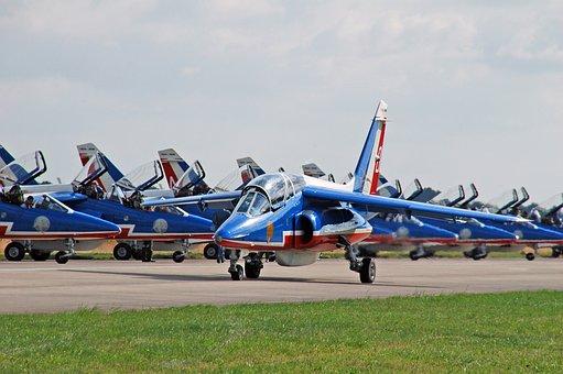 Plane, France, Show, Luchtmachtdagen, Airshow