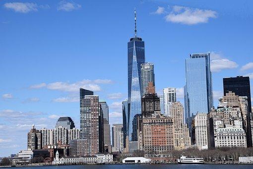 Skyscraper, Skyline, City, Architecture