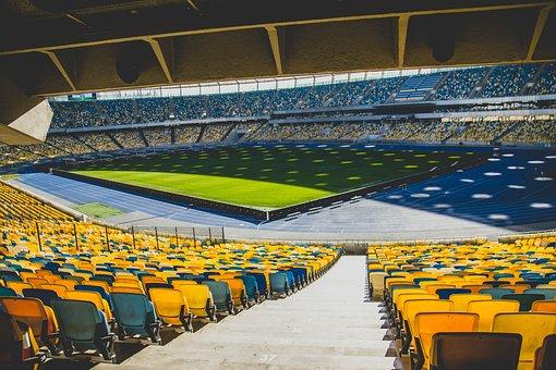 Stadium, Horizontal Plane, Travel, Bleachers, Outdoors