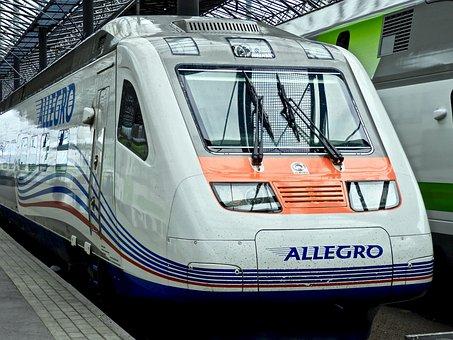 Transport, Train, Travel, Track, Station