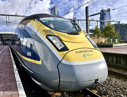 Transport, Train, Railway Line, Track, Station