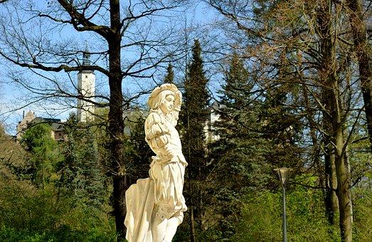 Park, Greiz, Thuringia Germany