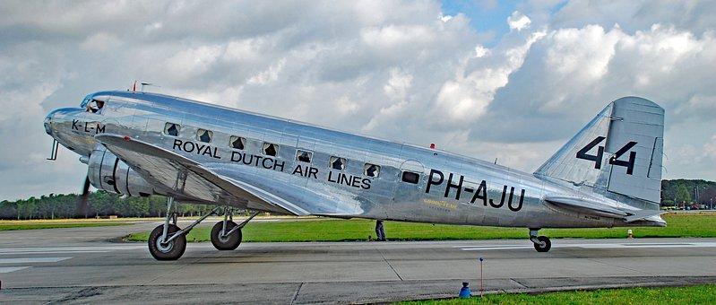 Plane, Transport, Vliegterrein, Flight, Uiver, Volkel