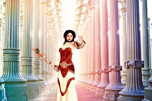 Woman, Adult, Fantasy, Warrior, Mythical, Mystical