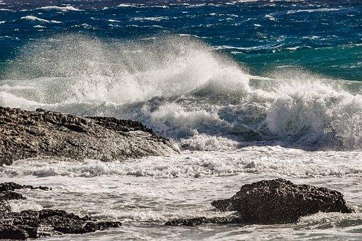 Surf, Water, Wave, Crashing, Sea, Ocean, Nature, Rocky