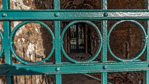 Architecture, Background, Old, Fence, Iron Gate, Metal