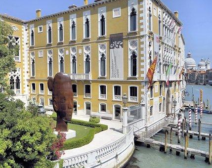 Italy, Venice, Art, Ca 'd'oro, Architecture, Sculpture