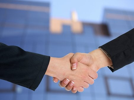 Handshake, Cooperation, Partnership, Agreement, Deal
