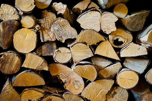 Desktop, Firewood, Cut, Wood, Tree Log, Organic, Brown