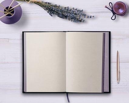 Diary, Table, Flowers, Candle, Decoration, Note, Issue
