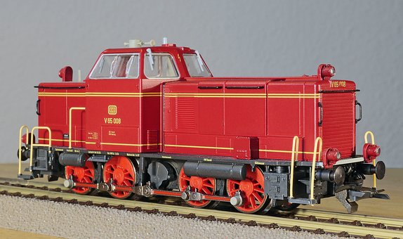 Diesel Locomotive, Model, Scale H0, Switcher
