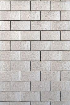 Facade, Clinker, Tile, Background, Pattern, Structure
