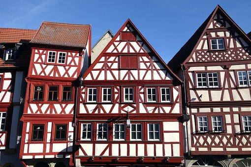Ochsenfurt, Truss, Fachwerkhaus
