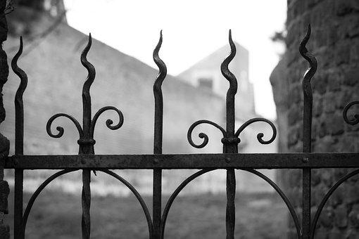 Fence, Cast Iron, Blacksmithing, Wrought Iron
