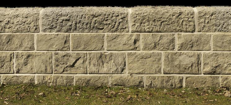 Flood Wall, Flood Protection, Stone Wall, Background