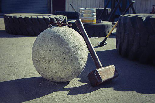 Hammer, Weight, Bodybuilding, Weightlifting, Gym