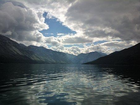 Water, Nature, Landscape, Mountain, Lake, Banff