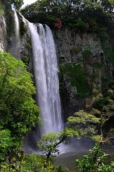 The Body Of Water, Nature, Waterfall, River, Scenery