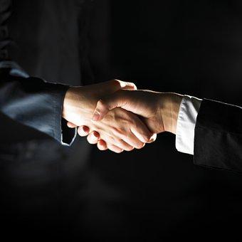 Business, Cooperation, Handshake, People, Agreement