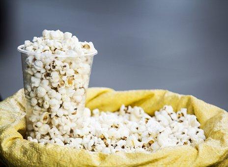 Food, Refreshment, Sweet, Popcorn, Plate, Nature