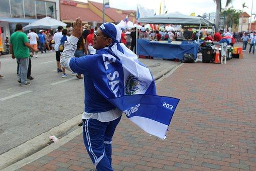 People, Street, City, El Salvador, Salvadorian