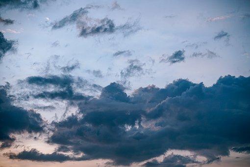 Sky, Top, Atmosphere, Dark, Background, Beautiful