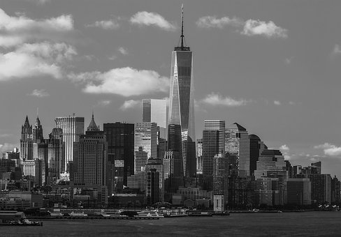 Skyscraper, City, Skyline, Cityscape, Architecture