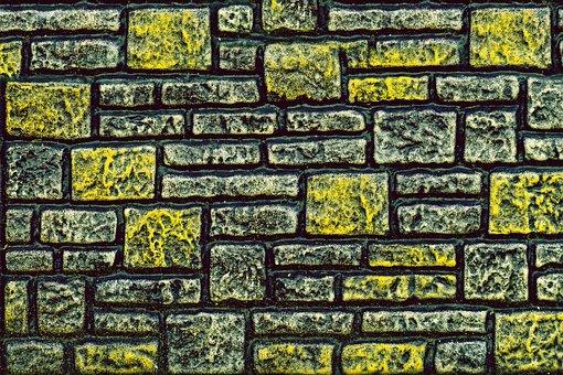 Facade, Clinker, Tile, Tile Element, Background