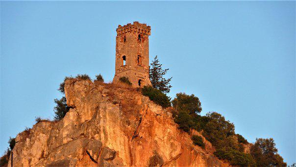 Torre, Travel, Sky, Outdoors, Nature, Rock, Rocca