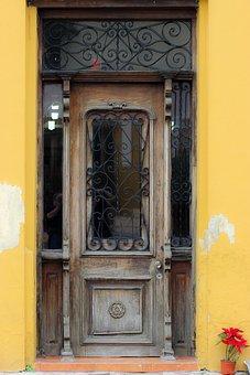 Door, Architecture, House, Entrance, Doorway, Old Door