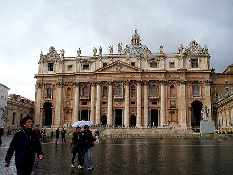 Rome, Vatican, St Peter's Square, Architecture, Travel